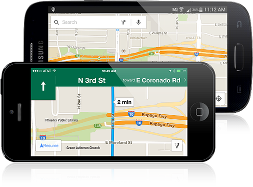Give your drivers instructions on their smartphones