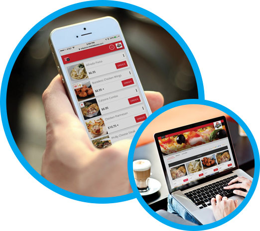 Fully integrated online ordering